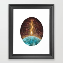 Fall From Heaven Framed Art Print