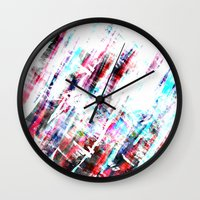 amsterdam Wall Clocks featuring Amsterdam by Kardiak