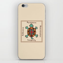 Turtle animal spirit iPhone Skin