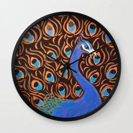 Le Paon Wall Clock
