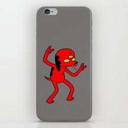 Satan's Little Helper iPhone Skin