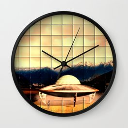 Alien Craft Wall Clock