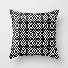 dijagonala v.4 Throw Pillow