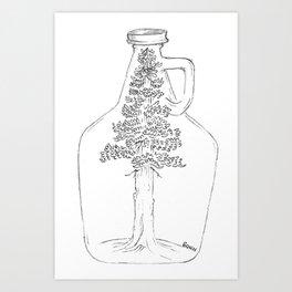 beer tree Art Print