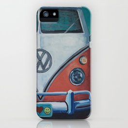 'Bohemian Dream' Hippie Van Art V W Van art, V W bus art iPhone Case