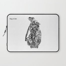 King of Clubs Laptop Sleeve