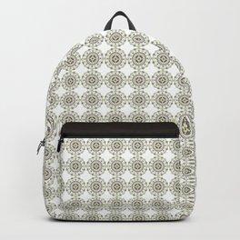 Heart Mandala – Green Backpack