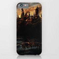 Harry Potter - Hogwart's Burning Slim Case iPhone 6