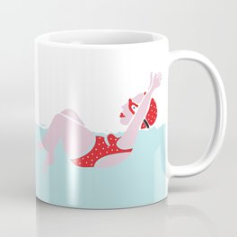 The swim series Coffee Mug