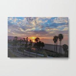 Big Blue Sunrise in Santa Barbara Metal Print