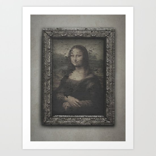 Nothing lasts forever. Art Print