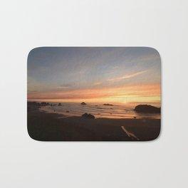 Sunset in Brandon Bath Mat