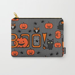 Boo Halloween pattern Carry-All Pouch