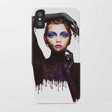The Girl 3 Slim Case iPhone X