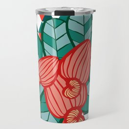 Geometric Cashew Pattern 1 Travel Mug