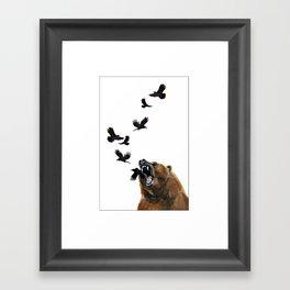 Sacred Outrage Framed Art Print