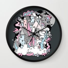 Head in the Clouds. Wall Clock