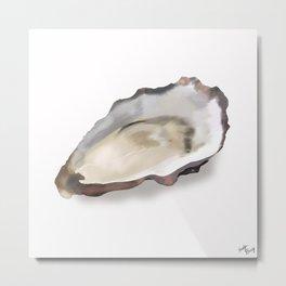 Oyster Metal Print
