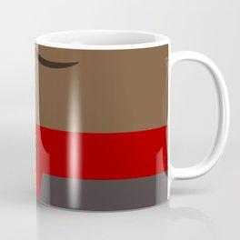 Worf - Minimalist Star Trek DS9 Deep Space Nine - Lieutenant Commander - startrek - Trektangles Coffee Mug
