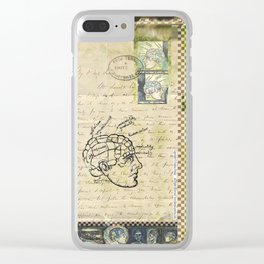 """Astrolabe, 1"" - by Fanitsa Petrou Clear iPhone Case"