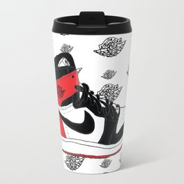 Jordan 1 Black Toe Travel Mug