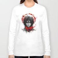 shingeki no kyojin Long Sleeve T-shirts featuring still strong by ururuty