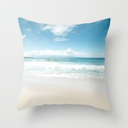 Kapalua Blue Throw Pillow
