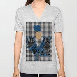 HAUTE COUTURE TTY N23 Unisex V-Neck