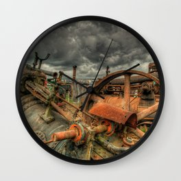 Extreme Scrappage Wall Clock