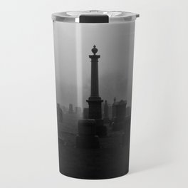 Cemetery (Black and White) Travel Mug
