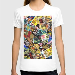 50s Movie Poster Collage #14 T-Shirt