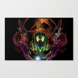 Art Deco Birds of Paradise Canvas Print