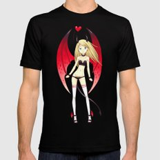 Succubus LARGE Mens Fitted Tee Black