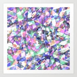 Lazer Diamond Art Print