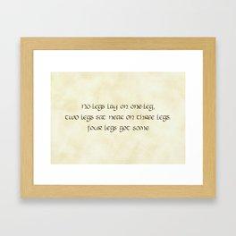 Riddles #8 Framed Art Print