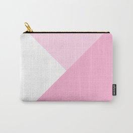 Rose Quartz Angles Carry-All Pouch