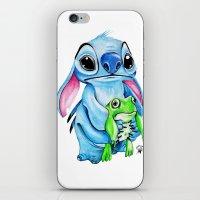 ohana iPhone & iPod Skins featuring Ohana  by Inks. MD