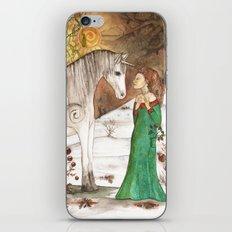 Yule Blessings iPhone & iPod Skin