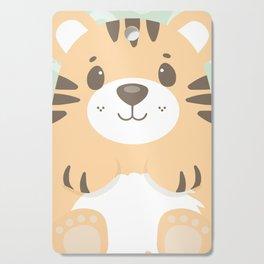 Tommy Tiger Cutting Board