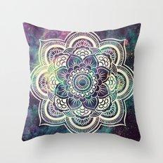 Galaxy Mandala : Deep Pastels Throw Pillow