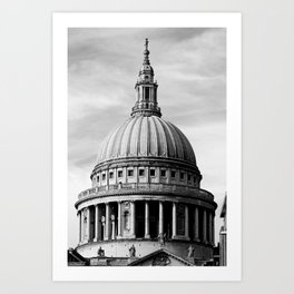 London ... St. Paul's Cathedral Art Print