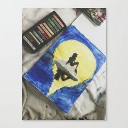 Ariel Pastel Canvas Print