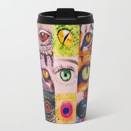 The World's Eyes Travel Mug
