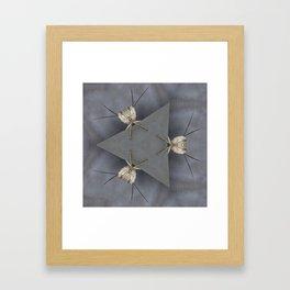 Alien Bugs Framed Art Print