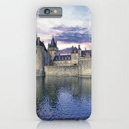 Castle Sully sur Loire, Loire valley, France. iPhone Case