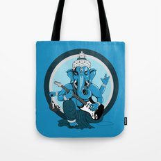 Ganesha rocks ! (v1) Tote Bag