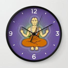 Spiritual peace, unfuck the world ;) Wall Clock