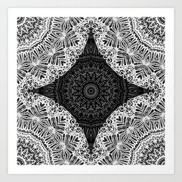 Mandala Mehndi Style G474 Art Print