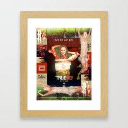 """THE SINNER """"The Bloody Truth"""" Framed Art Print"""