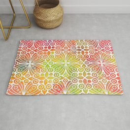 DP050-9 Colorful Moroccan pattern Rug